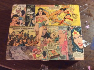 A thoroughly wonderful Wonder Woman box.